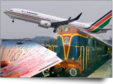 Air / Railway Reservation